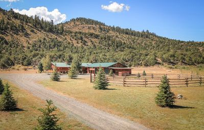 Photo for Beautiful Ranch house that backs up to the National Forest