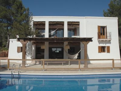 Photo for Beautiful Ibicencan house with swimming pool in Santa Gertrudis