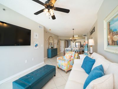 Photo for Tidewater-Gulf Front unit on lower floor. Spectacular views and super nice unit