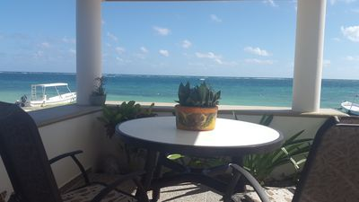 Photo for Casa Toucan 3 - Beautiful Beachfront near the Town Square of Puerto Morelos