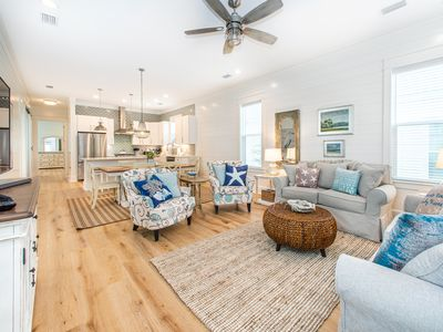 Photo for NEW Home! 2 Masters!☀️Inspected & Disinfected☀️4BR Seagrove Seaclusion at 30A