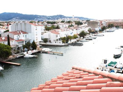 Photo for Empuriabrava, nice apartment for 4 pers. with 2 terraces view marina ref 238