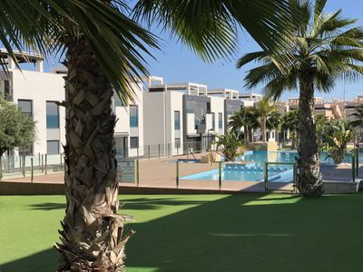 Photo for Luxurious apartment up to 6 people, pool, air conditioning, WiFi, ideal for families