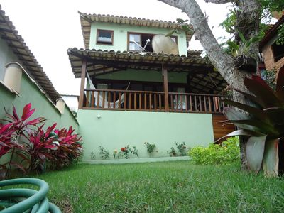 Photo for house in geriba and ferradurinha with pool and 02 suites c / ar (03 bathrooms)