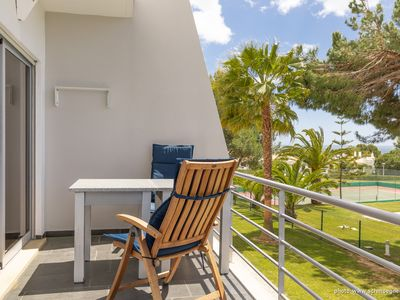 Photo for Apartment Casa Schmitt on 2 floors with communal pool and sea view