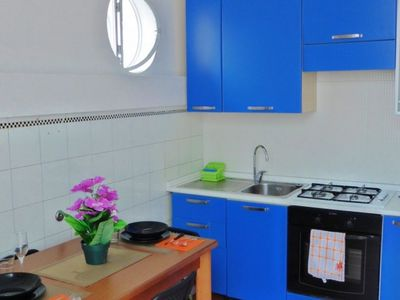 Photo for 53 Solaro Apartments offers apartments in Sanremo, 700 meters from Sanremo Casino. Free WiFi