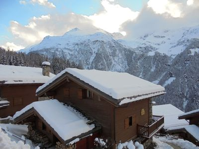 Photo for Chalet on ski station , family friendly -near slopes and shops  for 8-10 people