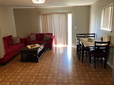 Photo for Beautiful 1 bedroom Apt, 30 minutes from NYC