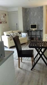 Photo for Maison de Saule, 1 bed apartment. Access to shared pool and 1 acre of grounds.