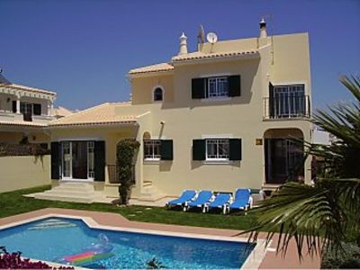 Photo for Villa with Private Pool, BBQ, Sports Basement  and Sea Views
