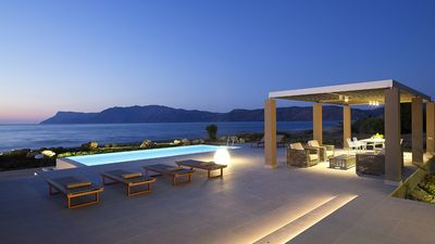 Photo for Steps away from beach, luxurious villas with infinity pools
