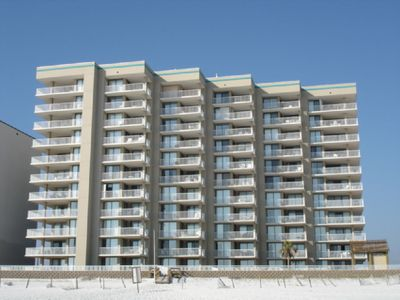 Photo for Great Gulf Front view - Heart of Orange Beach walk to Restaurants and Shopping