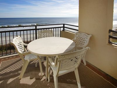 Photo for OCEANFRONT PET FRIENDLY 3 bedroom 2 Bath Condo with an Outdoor Pool ,W/D, WIFI