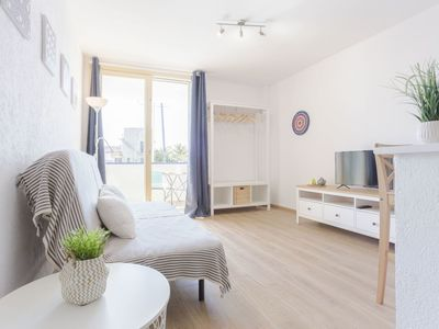 Photo for Cosy apartment for 2 guests with TV and pets allowed