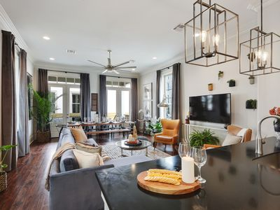 Photo for Midcentury Masterpiece With Outdoor Space, Near FQ