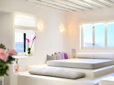 Photo for Boutique Luxury Villa Alana in Mykonos Perfect view