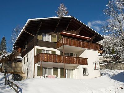 Photo for Apartment Pony 4-Bettwohnung in Lenk - 4 persons, 1 bedrooms