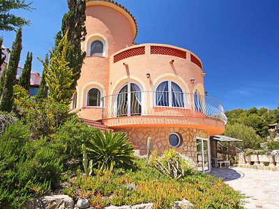 Photo for Vacation home Castillo Magarita  in Moraira, Costa Blanca - 8 persons, 4 bedrooms