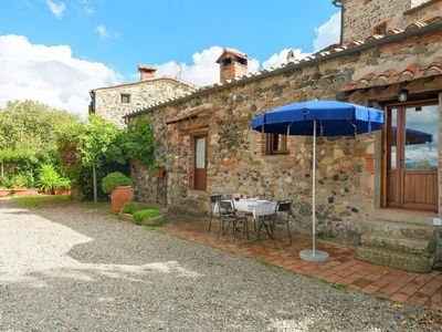 Photo for House in the center of Montecastelli Pisano with Internet, Pool, Terrace, Garden (246223)