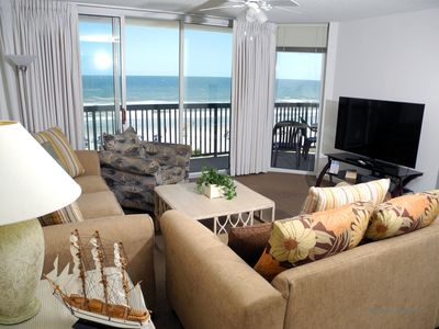 Photo for Ashworth Unit 407! Stunning Ocean Front Condo! Book your get away today!