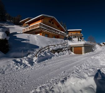 Photo for Exclusive Chalet with all comforts - Sauna, Fireplace - in magnificent location