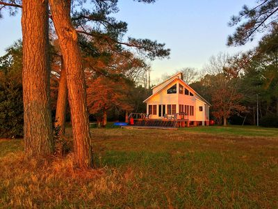 Photo for Compass Rose-Eastern Shore WaterFront/Country-Living Home(Hot Tub, Pet Friendly)
