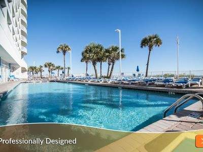 Photo for SAVE UP TO 25% OFF Summer Rates. Awesome, Upscale Condo. Family Friendly Oceanfront Resort.