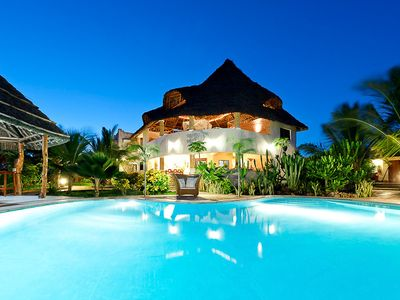 Photo for Njera House, Exclusive, fully serviced private villa at the Indian Ocean