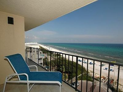 PICTURE YOURSELF HERE! Condo 701 - Perfect BEACHFRONT END UNIT on the 7th floor.