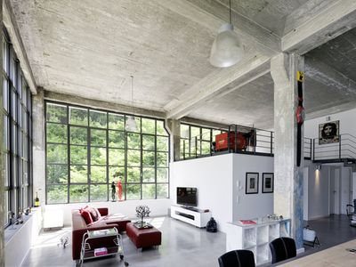 Photo for Loft apartment 160 m2 factory style in a Bauhaus monument for 6