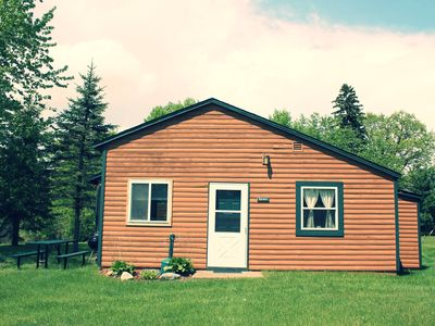 Spruce 2 BR Lakefront Cabin w/ Private Launch & Dock