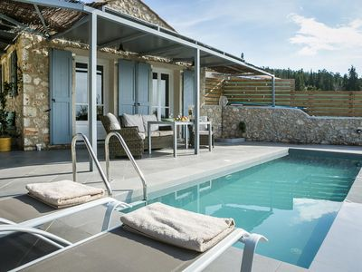 Photo for Manganos Villa, Sleeps 2 with Pool, Air Con and WiFi