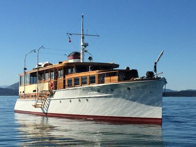 Photo for 78' Historic Yacht - Fully Restored!  Sleeps 8 Guests in 4 Staterooms