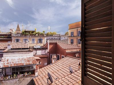 Photo for Central, bright and cozy!Splendid view over the rooftops of old. Free Wifi