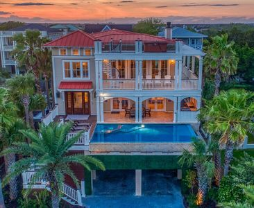 Photo for August discounts! Luxury IOP ~ PRIVATE POOL, MULTIPLE DECKS, ROOF TOP, HOT TUBS