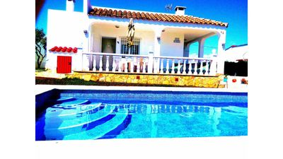 Photo for Chalet 14, pool and barbecue, quiet area