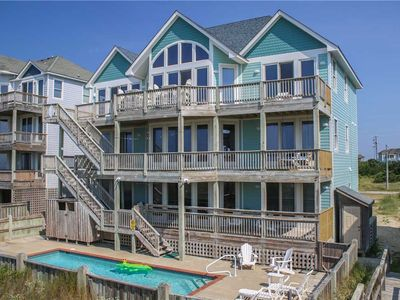 Photo for Watch the waves from the deck w/Htd Pool&HotTub, Elevator