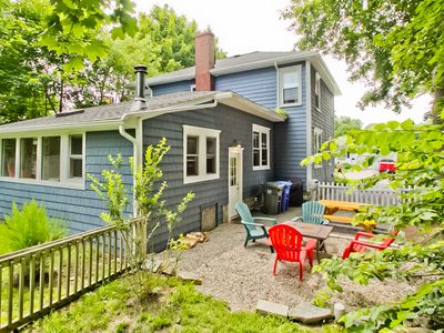 Photo for 2 Blocks to Willard Beach! Upscale 2BR w/Yard, Available for 30+ Night Stays!