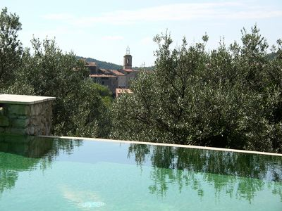 Photo for Villa With Private Pool, Ping-pong Table, Panorama Towards Village And Forests