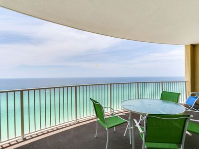 Photo for NEWLY RENOVATED CONDO ON THE BEACH!! Shared pool &hot tub, Book now!
