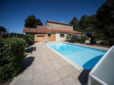 Photo for Large stone house, 5 minutes from Cordes sur Ciel
