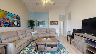Photo for BC101: New Townhome, Heated Pool, 1 Minute Drive to Beach