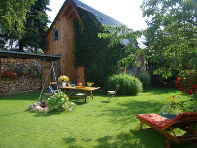 Photo for Cozy holiday house between Müritz and Feisnecksee