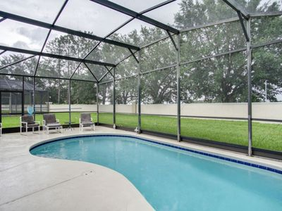 Photo for Windsor Palms Villa with Private Pool and Lanai, 5 Minutes from Disney!