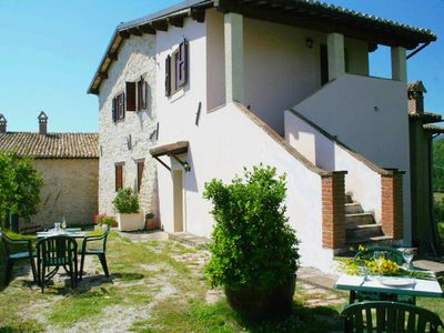 Photo for Peaceful Holiday Home in Sellano with Pool
