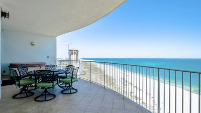Photo for Gorgeous 3/3.5 with amazing views! Hot Tub, Grill on deck!