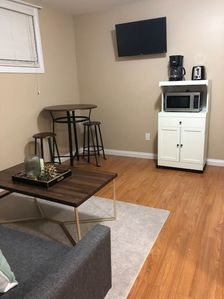 Photo for Entirely Private 1 Bed Basement Suite