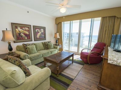 Photo for Gulf Front Waterscape Condo ~ Incredible Beach Views ~ Exciting Resort Amenities
