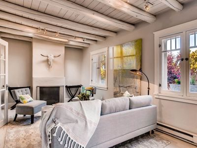 Photo for Lulu's Adobe- Restored 1869 Double Wall Adobe courtyard, privacy and pet friendly!