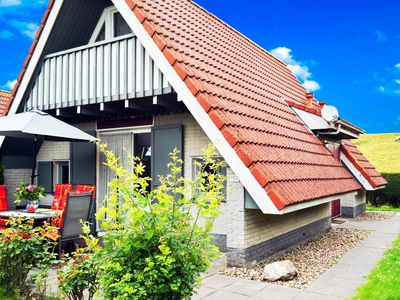 Photo for 6 pers. House with a private terrace behind a dike by the Lauwersmeer